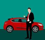 car dealer photo